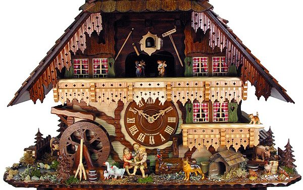 august schwer award winning cuckoo clock