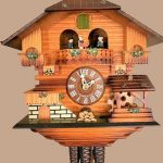 Beautifully Crafted Forest Black Cuckoo Clock by Hurbert Herr