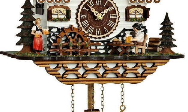 German Beer Garden-Style Cuckoo Clock