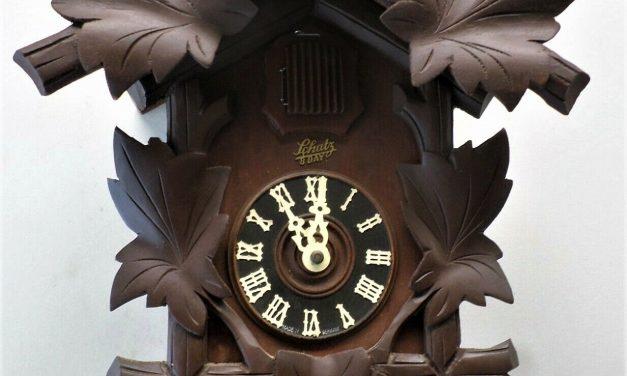 Vintage Schatz Cuckoo Clock