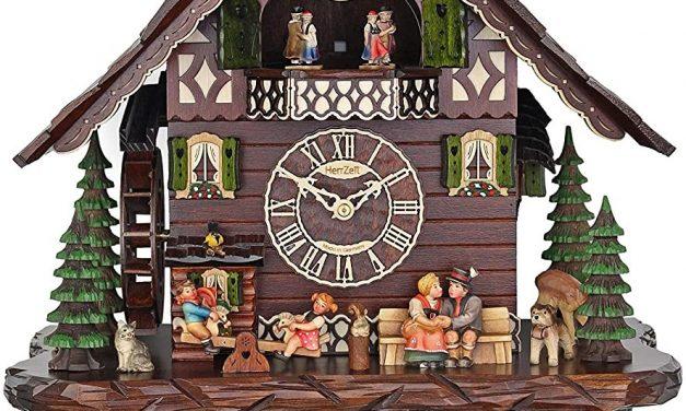 A Happy Family Cuckoo Clock by Adolf Herr